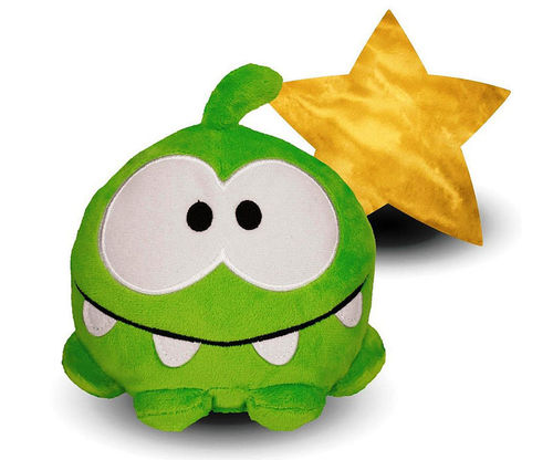Peluche Cut the rope Etoile 15 cm