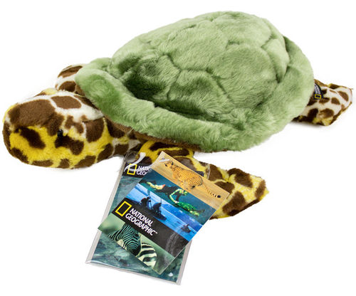 Peluche Tortue National Geographic 35 cm