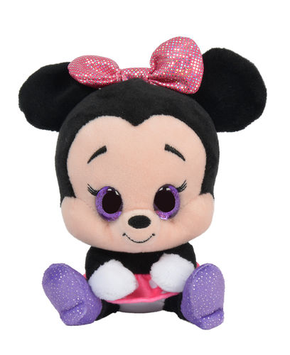 Peluche Disney Glitzies Minnie 15 cm