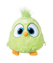 Peluche Hatchlings Angry birds vert clair