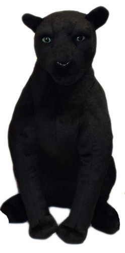 Peluche Panthere noire assise 62 cm