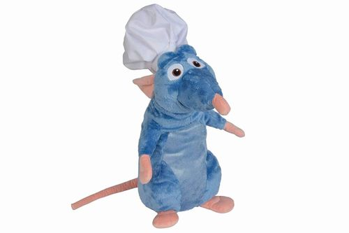 Peluche Disney Ratatouille Remy chef 60 cm