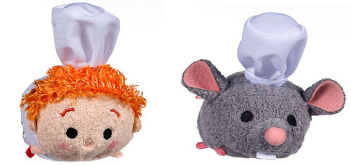 Peluche tsum tsum mini lot ratatouille