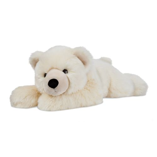 Peluche ours polaire couchée Superflops 65 cm