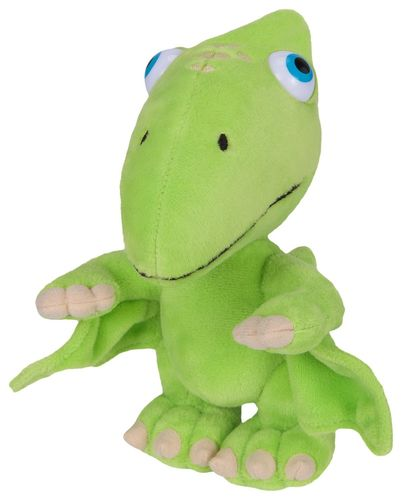 Peluche Dino Train verte Tiny 18 cm