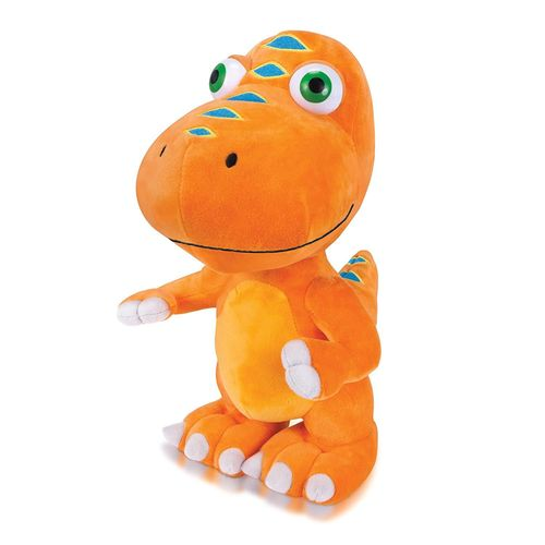 Peluche Dino Train orange Sammy 18 cm