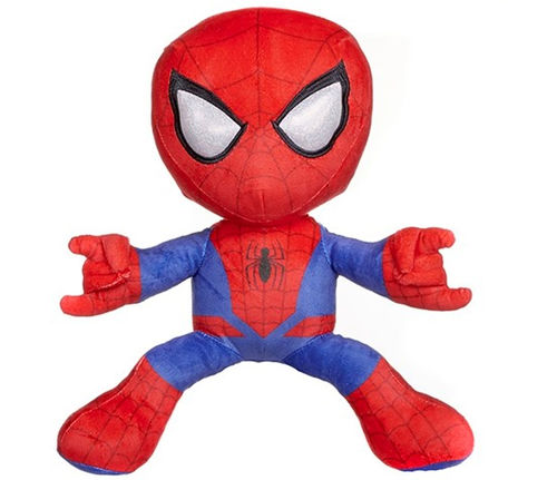 peluche spiderman marvel rouge  32 cm