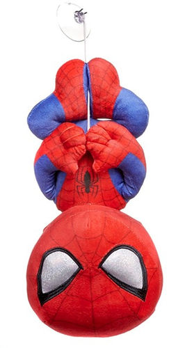 peluche spiderman marvel suspendu 28 cm