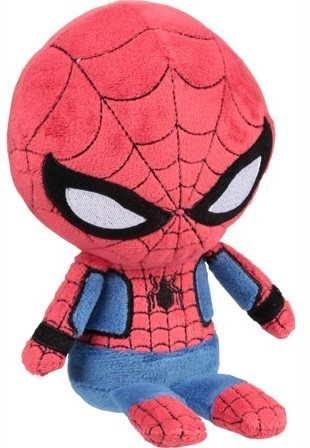 Peluche spiderman hero funko marvel 21 cm
