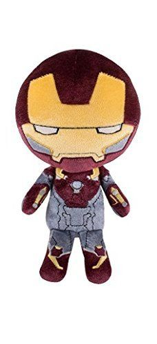 Peluche iron man  hero funko marvel 21 cm