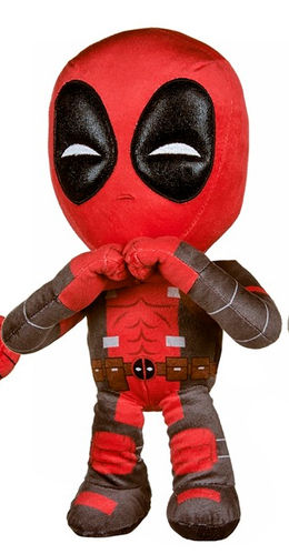 Peluche Marvel Deadpool 30 cm poings serrés