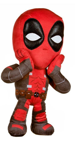 Peluche Marvel Deadpool 30 cm surpris