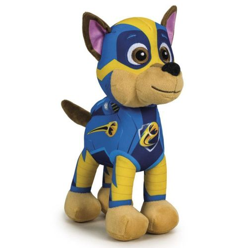 Peluche Pat Patrouille Chase Mighty Pups 28 cm