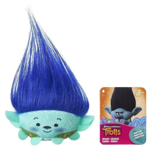 trolls peluche mini branch