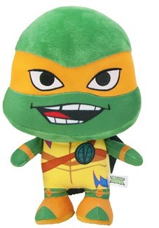 Peluche tortue ninja Michelangelo Teenage  28 cm