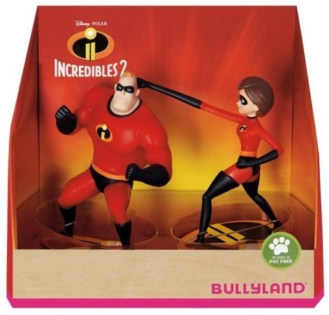 Figurines Indestructibles Bullyland lot de 2
