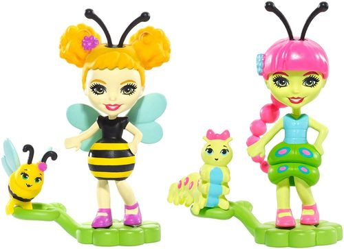 Enchantimals Amis insectes abeille et chenille