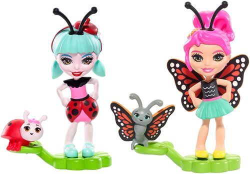 Enchantimals Amis insectes papillon et coccinelle