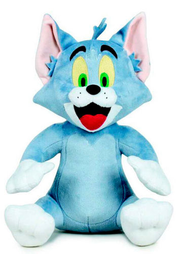 Peluche Tom et Jerry 28 cm Tom